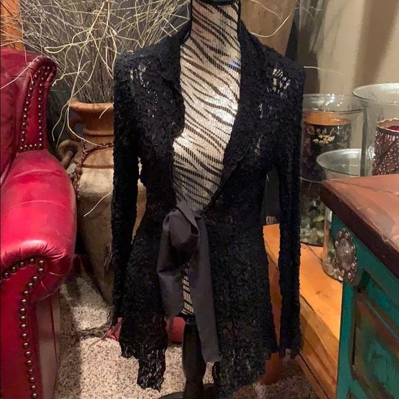 db sport Jackets & Blazers - Beautiful lace bow jacket